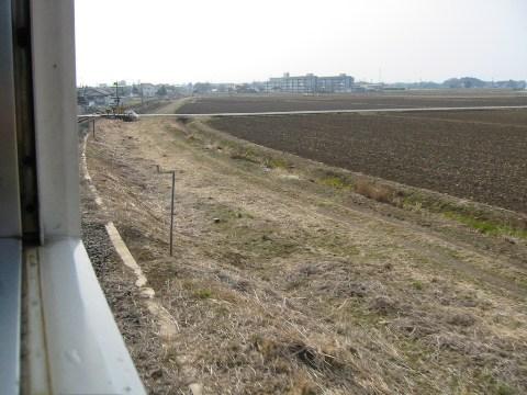 栃木「烏山線」の車窓