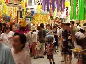 阿佐ヶ谷の七夕祭り
