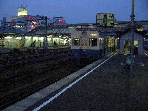 関東鉄道キハ100系(101)
