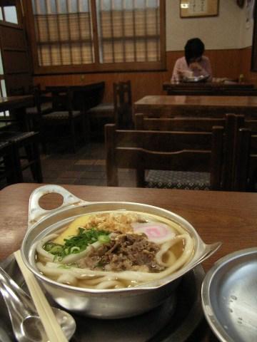 松山市内の鍋焼きうどん専門店「K」
