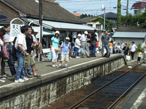 鹿島鉄道鉾田駅