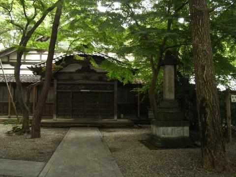 金沢市内の静明寺