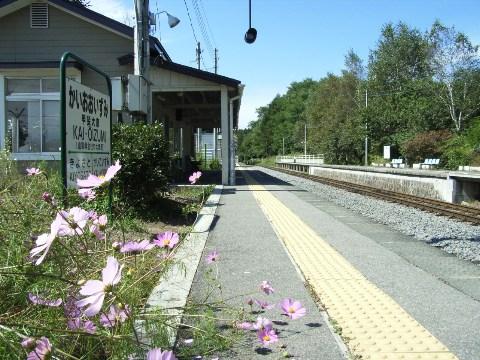 小海線甲斐大泉駅