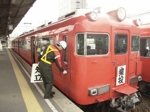 知立と猿投を結ぶ二両編成の列車