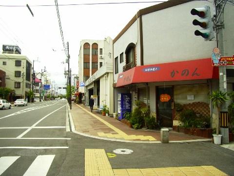 観音寺の町