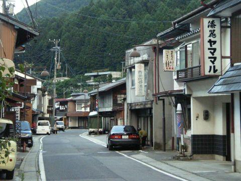 木曽平沢(楢川村)の町並み