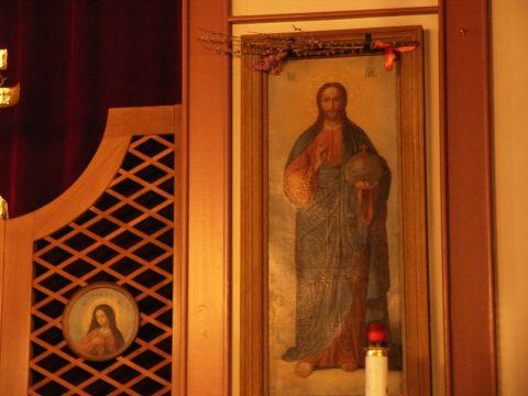 盛岡ハリストス正教会のイコン