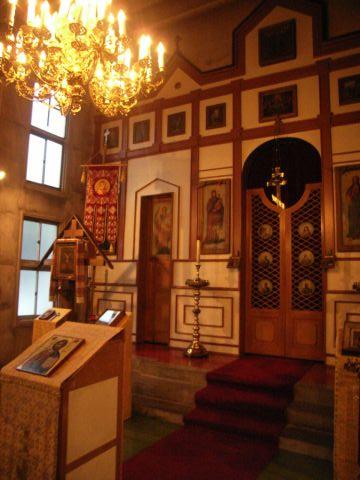 盛岡ハリストス正教会の内部