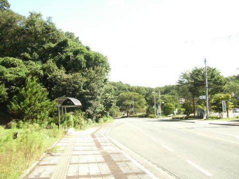 宮沢賢治記念館のバス停