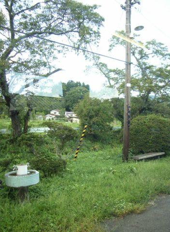 大船渡線折壁(おりかべ)駅の反対側ホーム