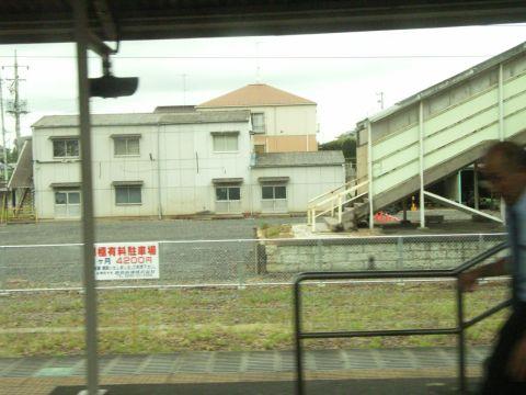 三月に廃線となったばかりの鹿島鉄道石岡駅126