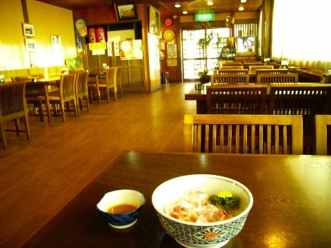 手賀沼フィッシングセンターの食堂