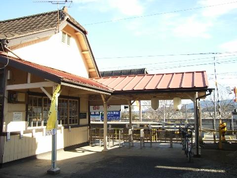 上州一ノ宮駅の臨時改札口