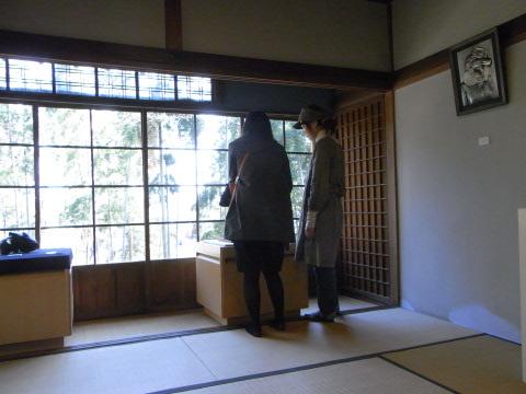 旧村川別荘(我孫子市)での東京芸大生の彫金の展示