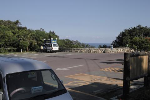 斎場御嶽(せーふぁうたき)の駐車場