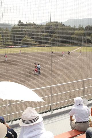 大洲での四国・九州アイランドリーグの試合