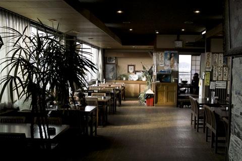 手賀沼フィッシングセンターの食堂 SIGMA DP2