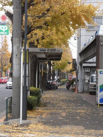 「井草八幡宮」バス停